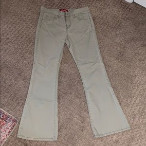 Rare Levis Strauss tan jeans